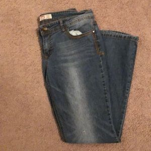 l.e.i low rise slim boot size 15 regular